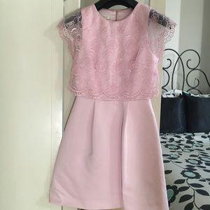 c724ccf3cfc78c Ted Baker Dresses - Ted Baker Dabria Floral Bodice Pink Dress
